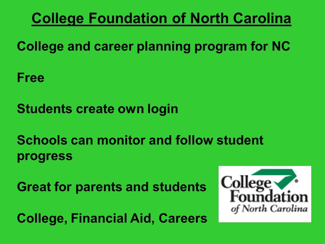 College Foundation of North Carolina