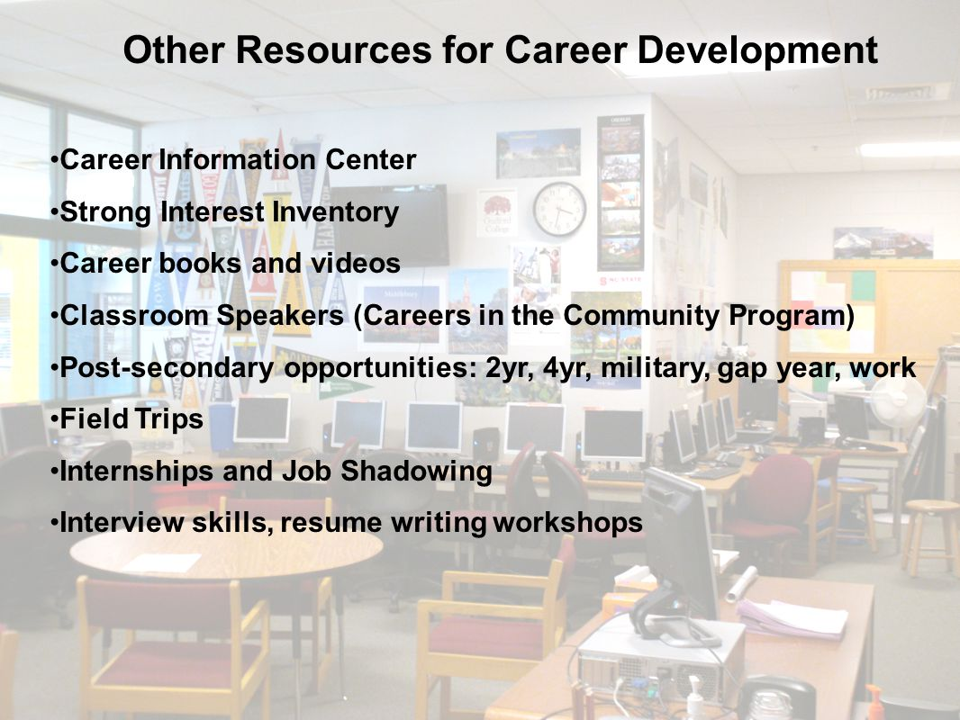 Other Resources for Career Development