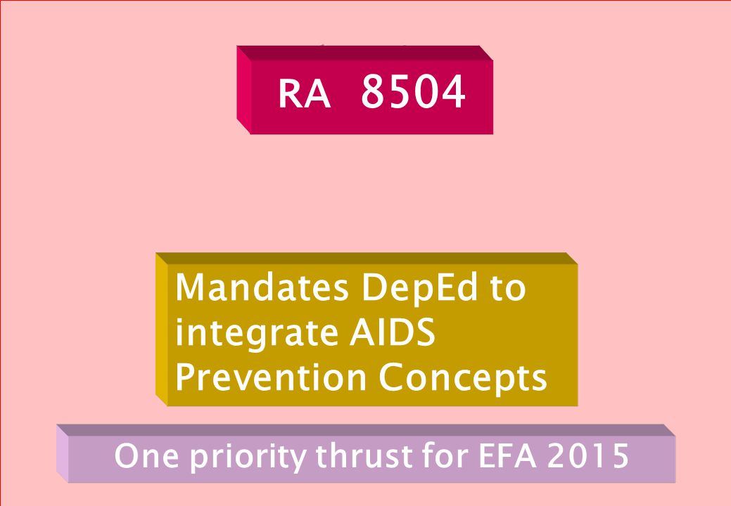 One priority thrust for EFA 2015