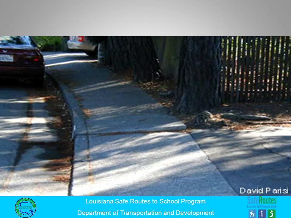 Proper maintenance is required to ensure that infrastructure remains safe for pedestrians and wheelchairs.