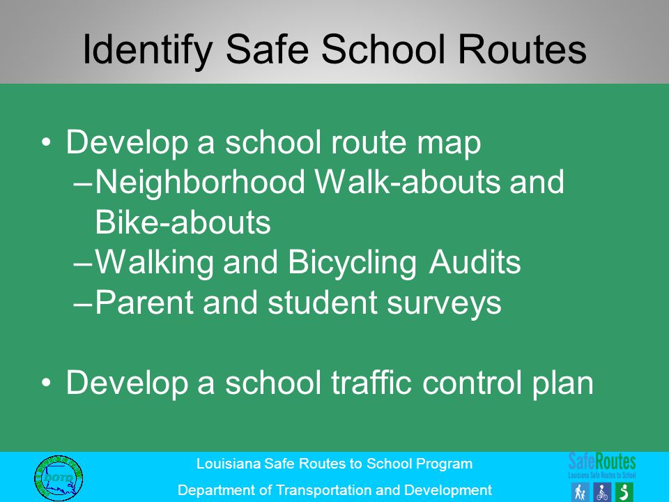 Identify Safe School Routes