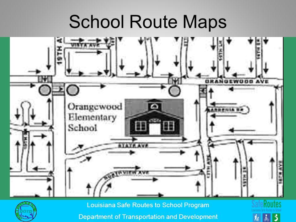 School Route Maps