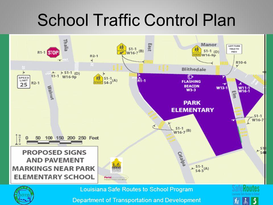 School Traffic Control Plan
