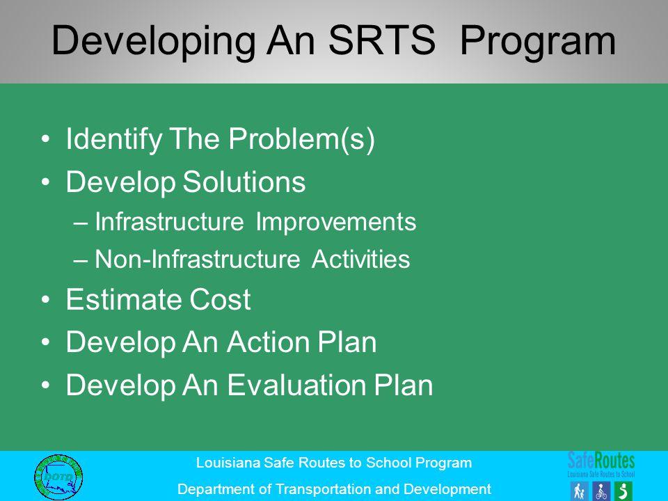 Developing An SRTS Program