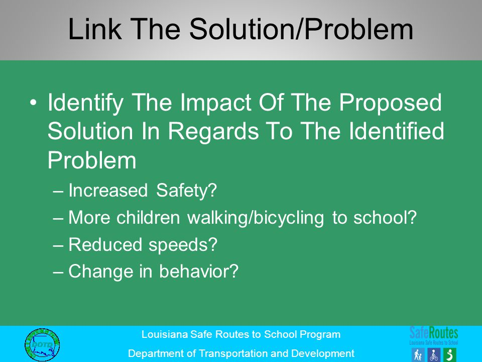 Link The Solution/Problem