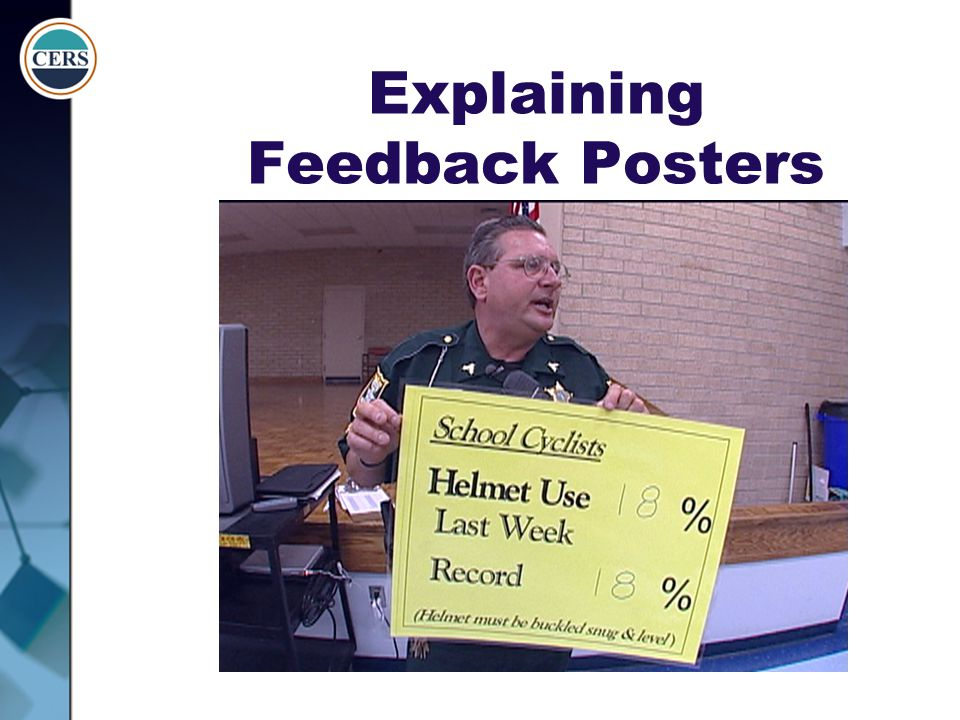 Explaining Feedback Posters