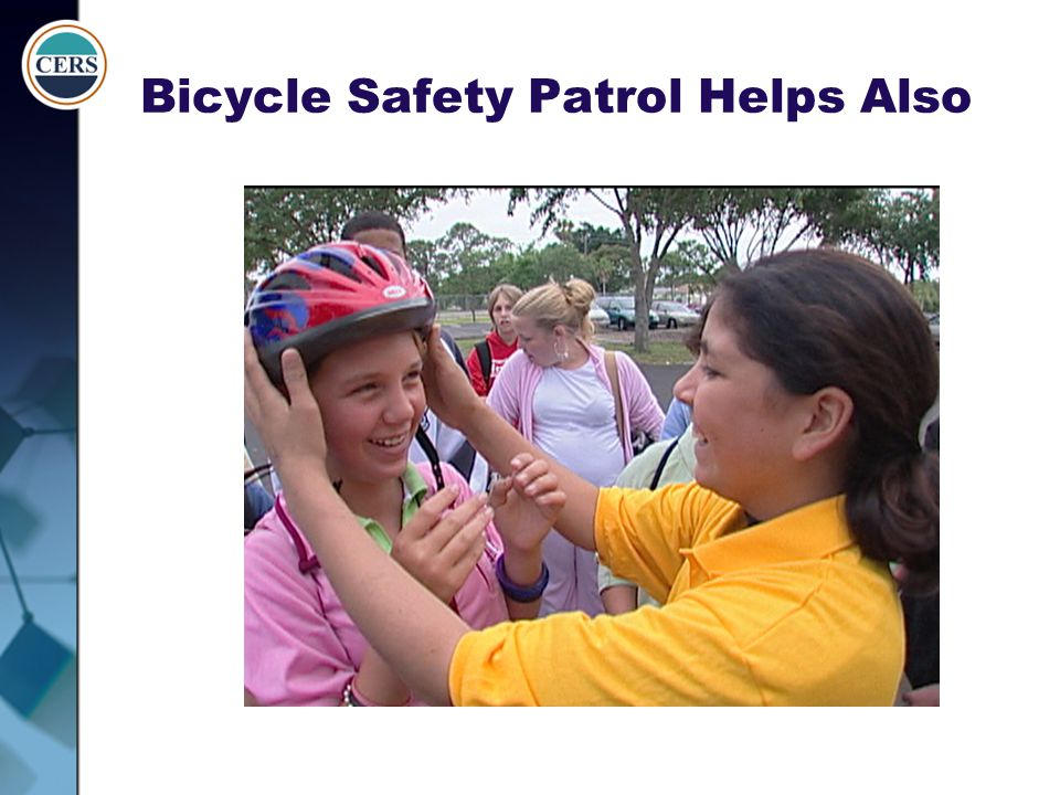 Bicycle Safety Patrol Helps Also