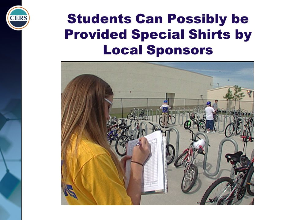 Students Can Possibly be Provided Special Shirts by Local Sponsors