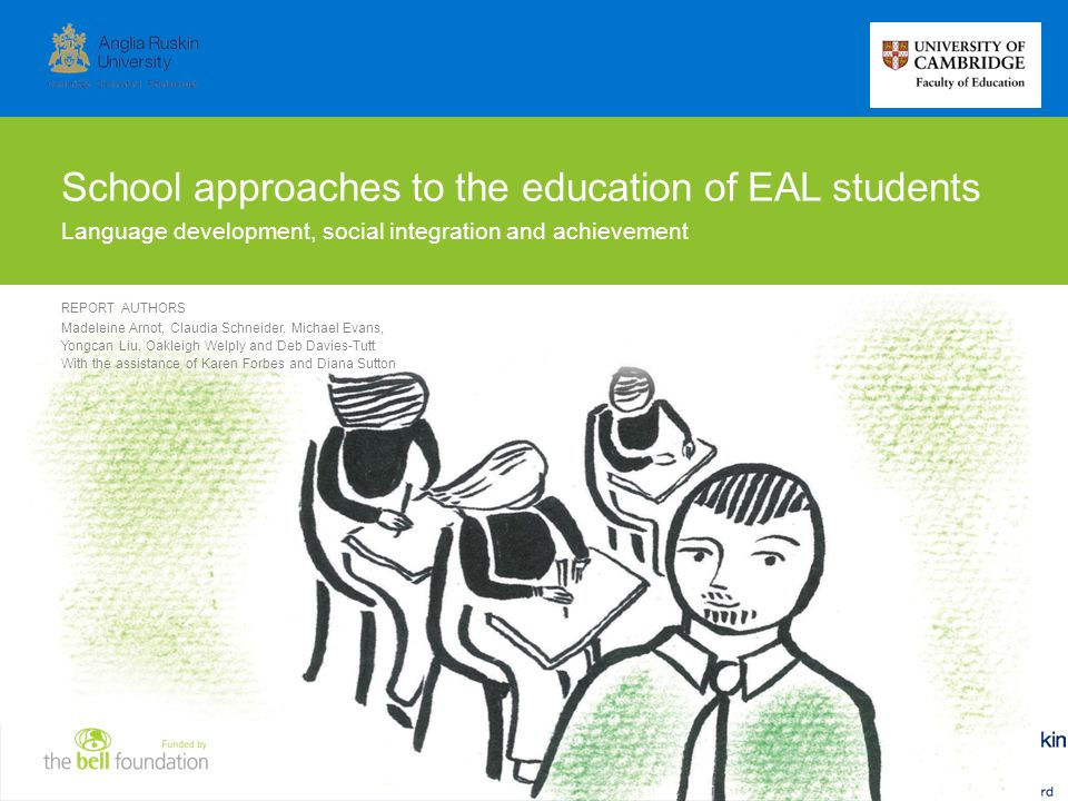 School approaches to the education of EAL students