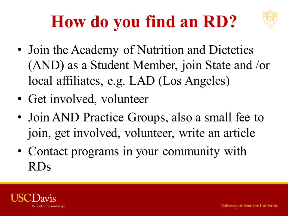 How do you find an RD