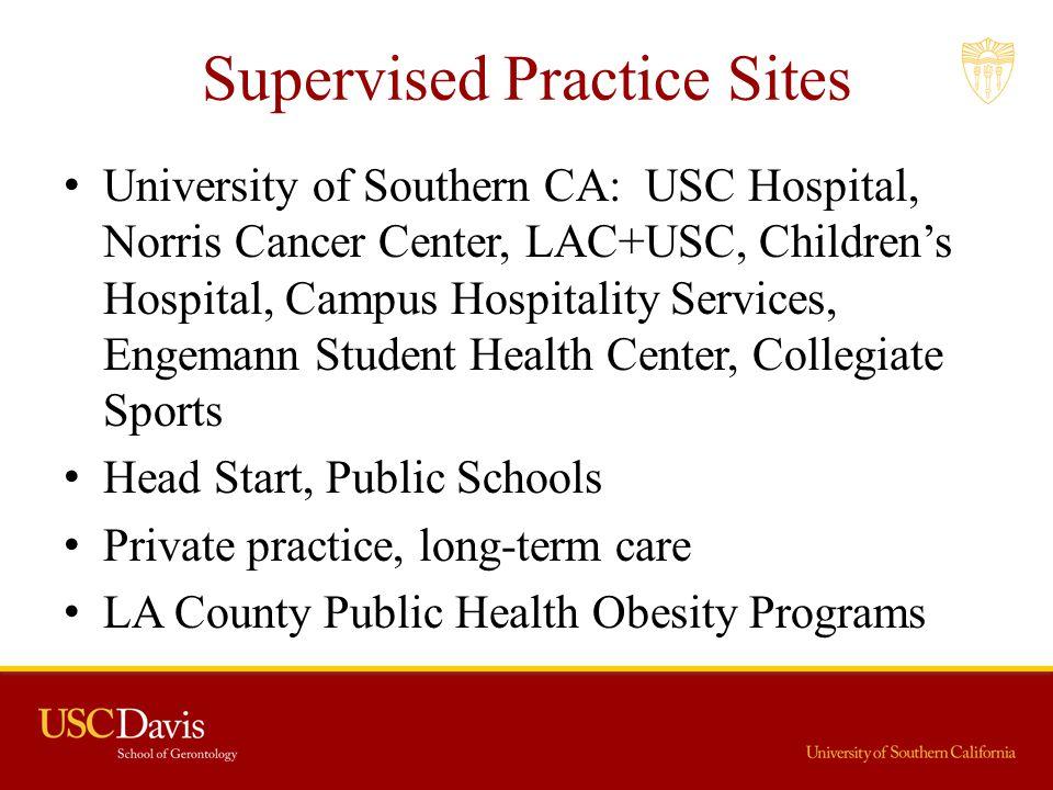 Supervised Practice Sites