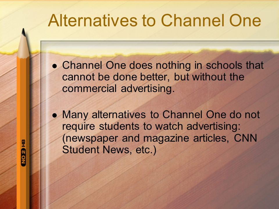 Alternatives to Channel One