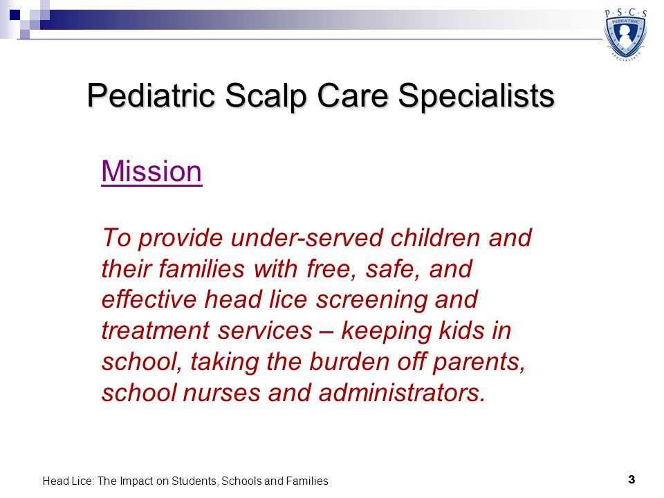 Pediatric Scalp Care Specialists