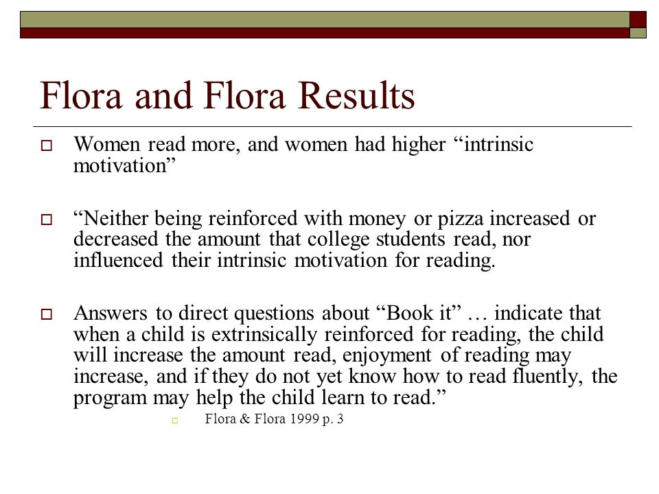 Flora and Flora Results