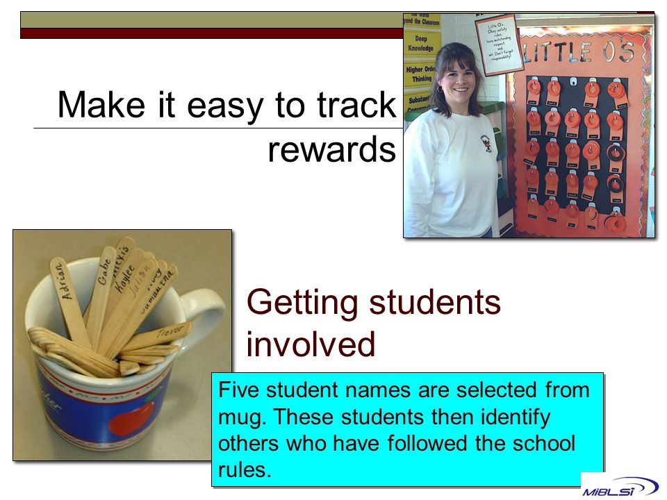 Getting students involved