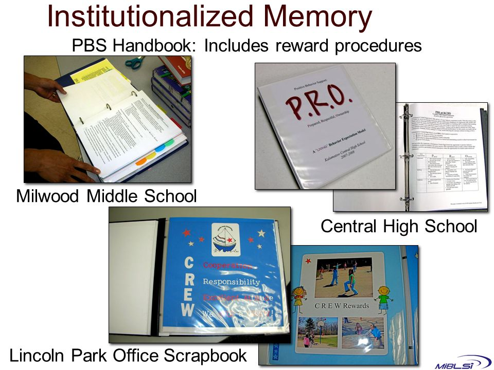 Institutionalized Memory
