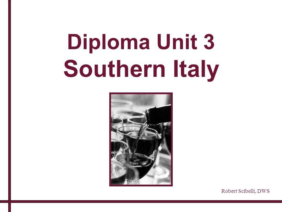Diploma Unit 3 Southern Italy