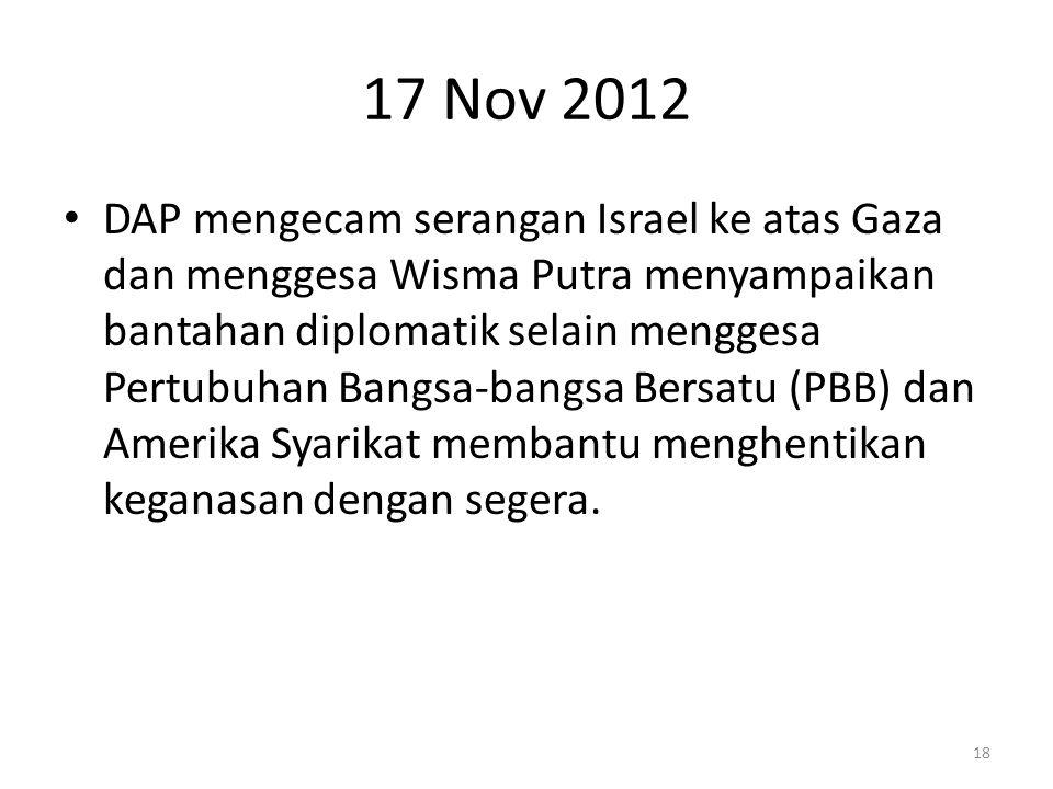 17 Nov 2012