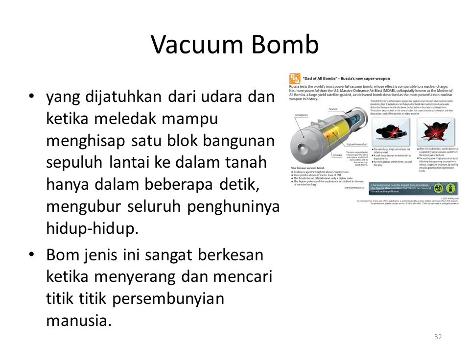 Vacuum Bomb