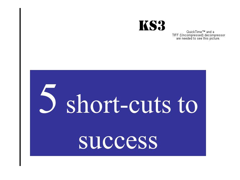 KS3 IMPACT! 5 short-cuts to success