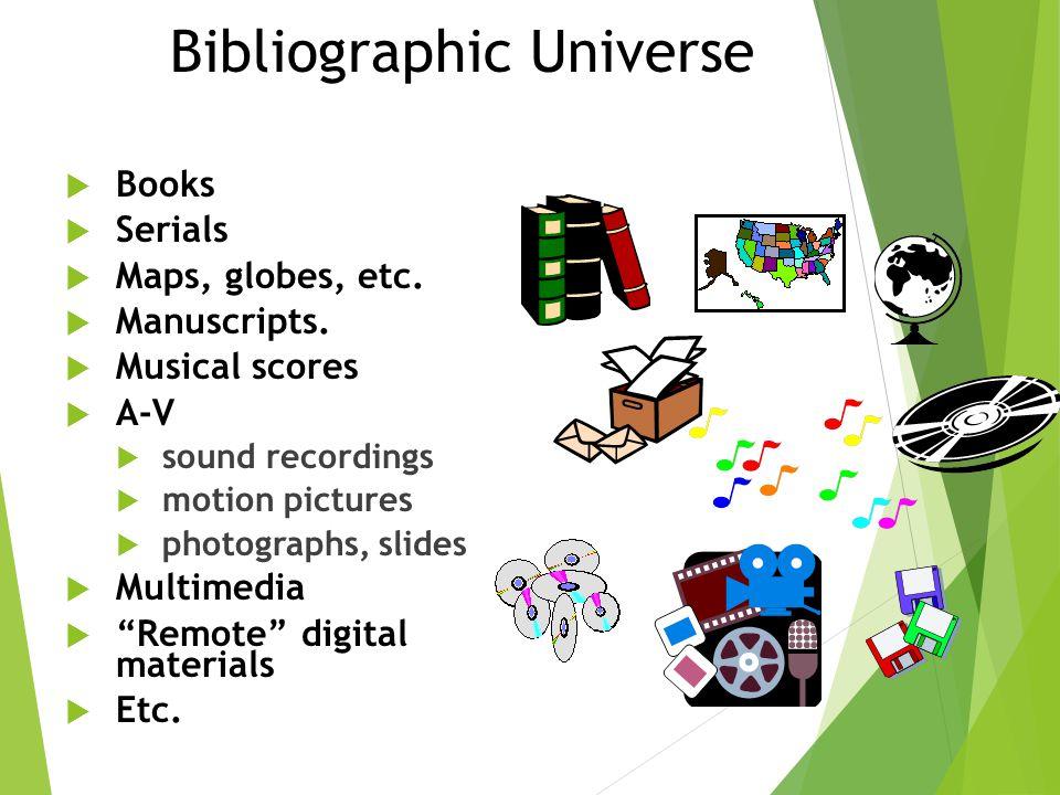 Bibliographic Universe