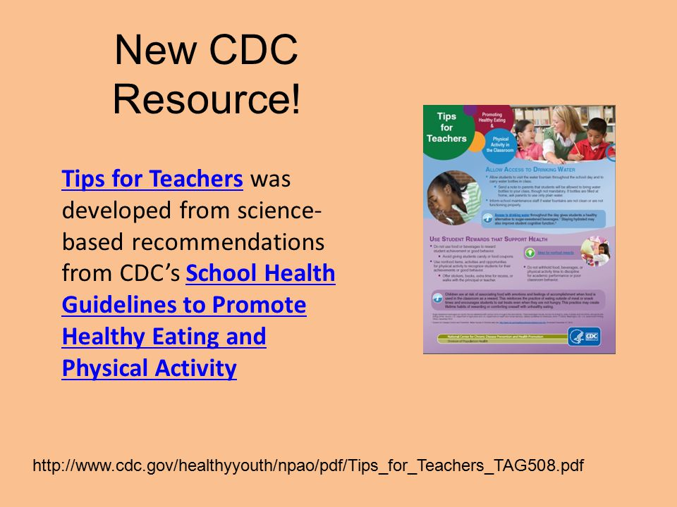 New CDC Resource!