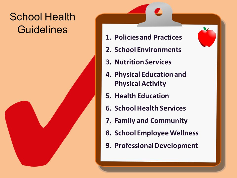 School Health Guidelines