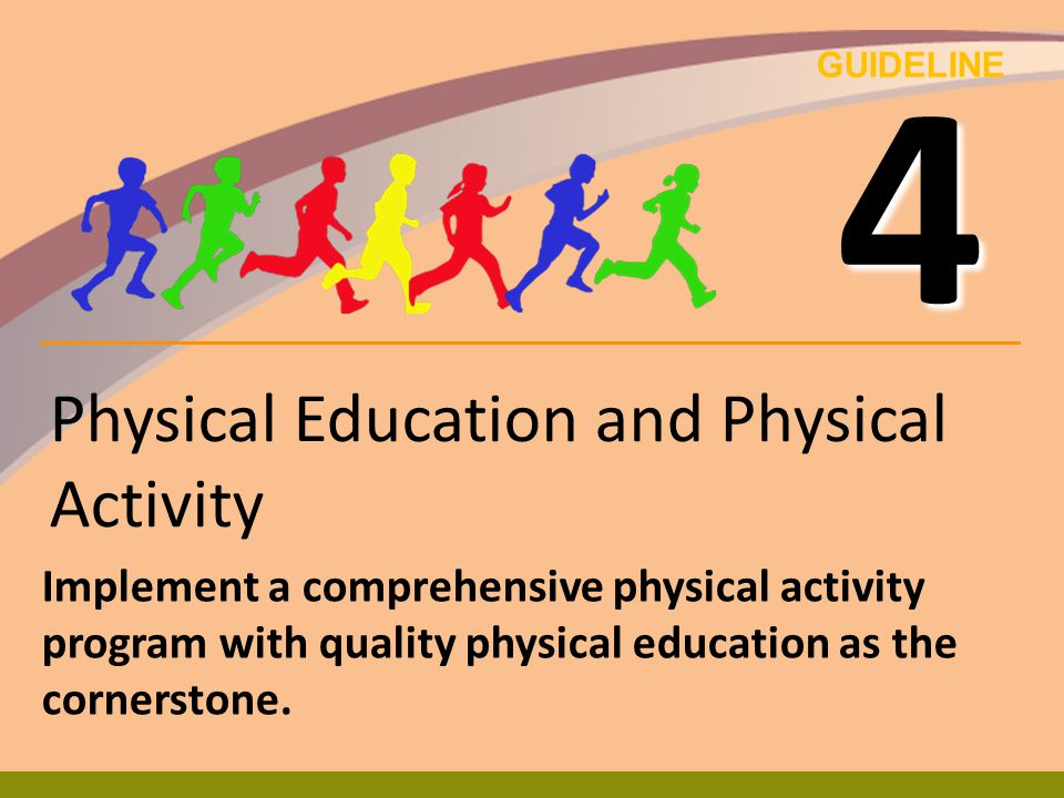 Physical Education and Physical Activity