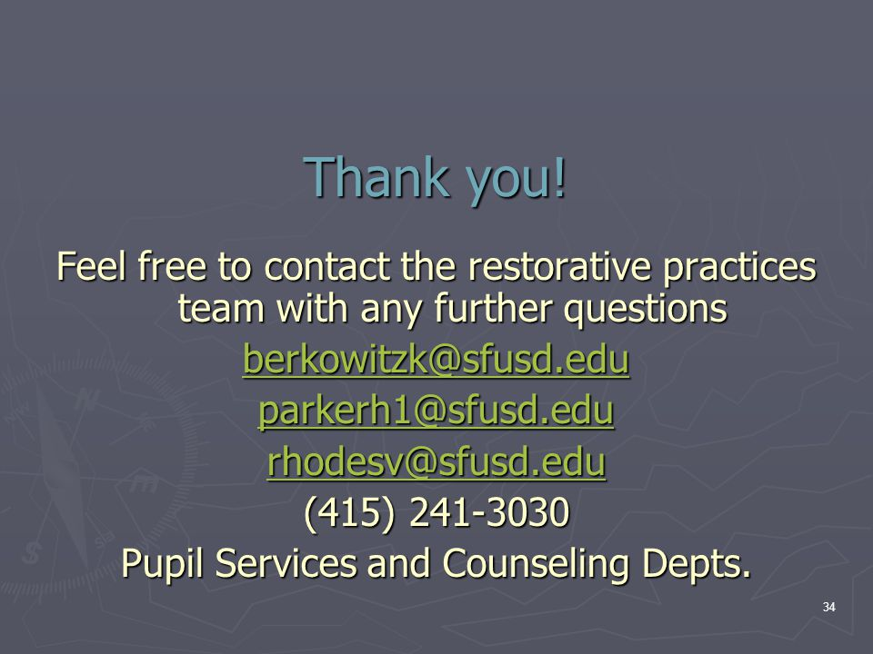 Pupil Services and Counseling Depts.
