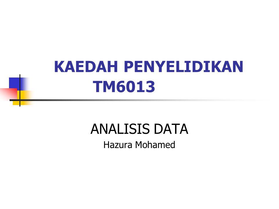 KAEDAH PENYELIDIKAN TM6013