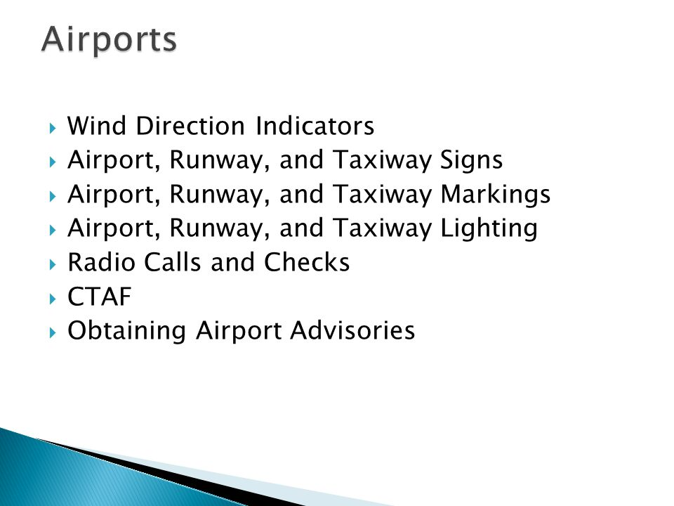 Airports Wind Direction Indicators Airport, Runway, and Taxiway Signs