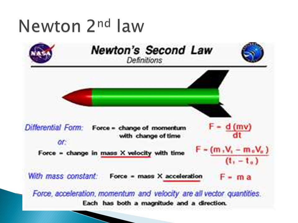 Newton 2nd law