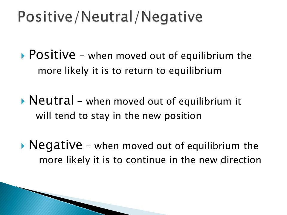 Positive/Neutral/Negative