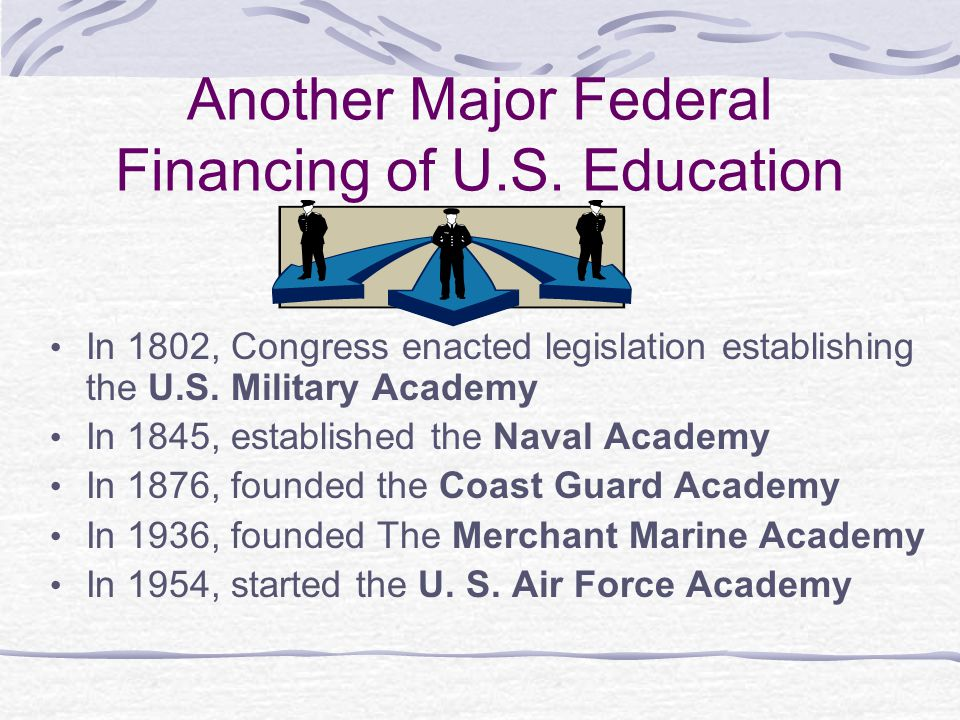 Another Major Federal Financing of U.S. Education