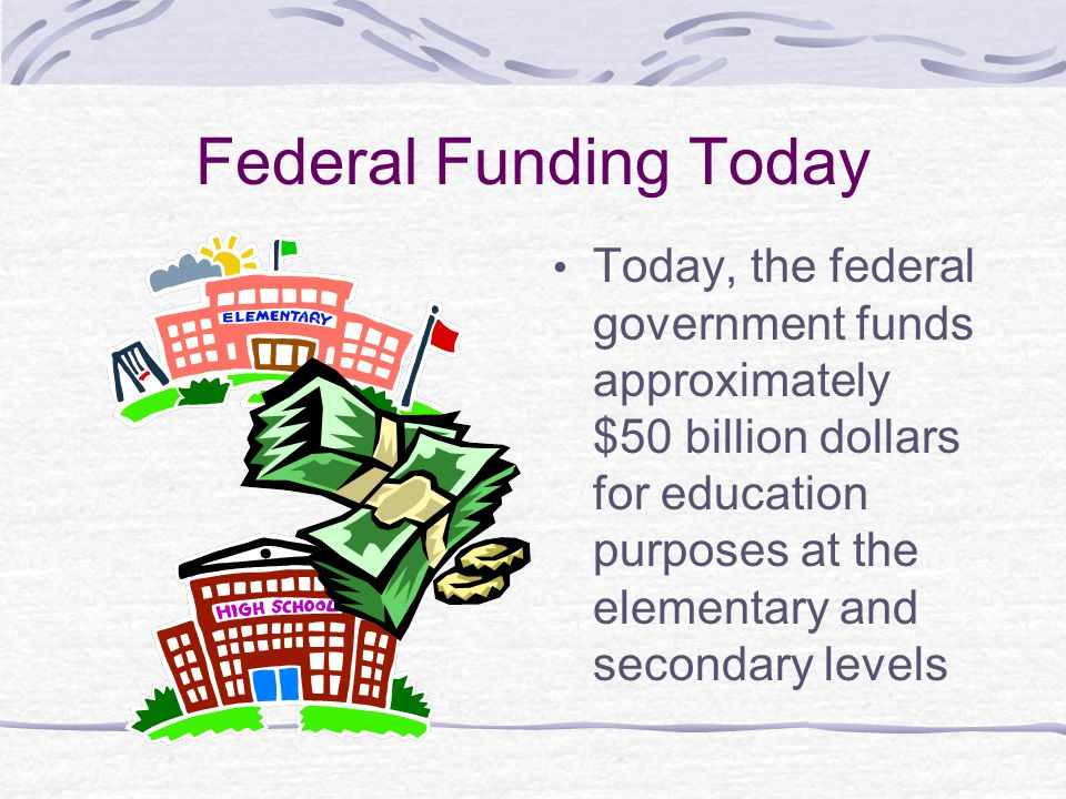 Federal Funding Today