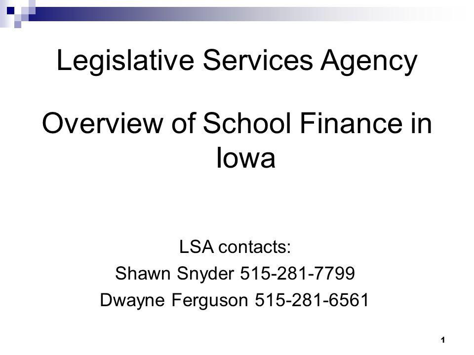Legislative Services Agency