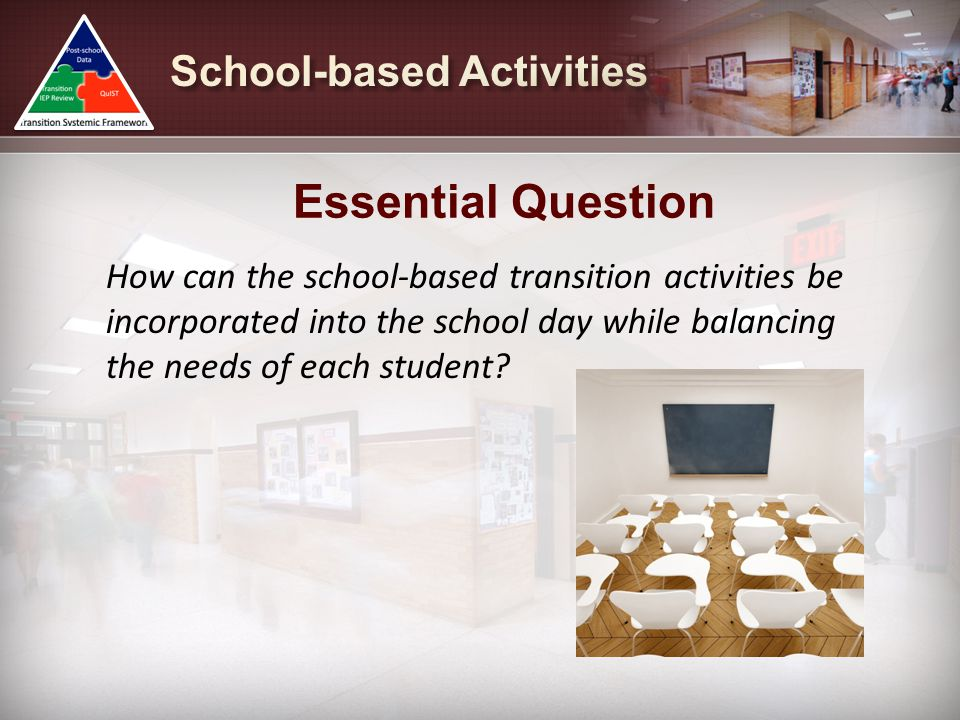 Essential Question School-based Activities