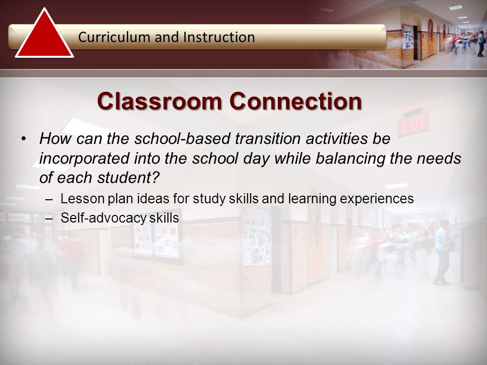 Classroom Connection Curriculum and Instruction
