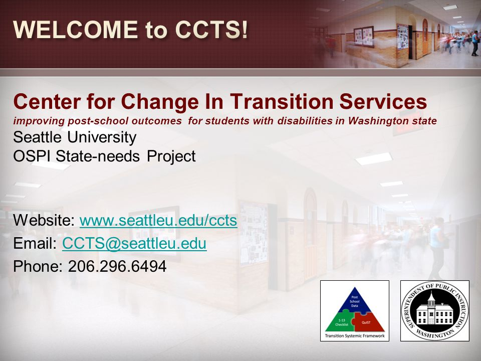 WELCOME to CCTS!