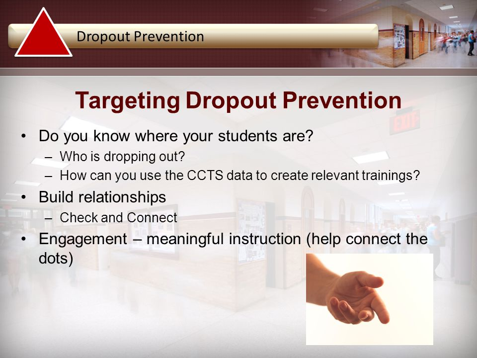 Targeting Dropout Prevention