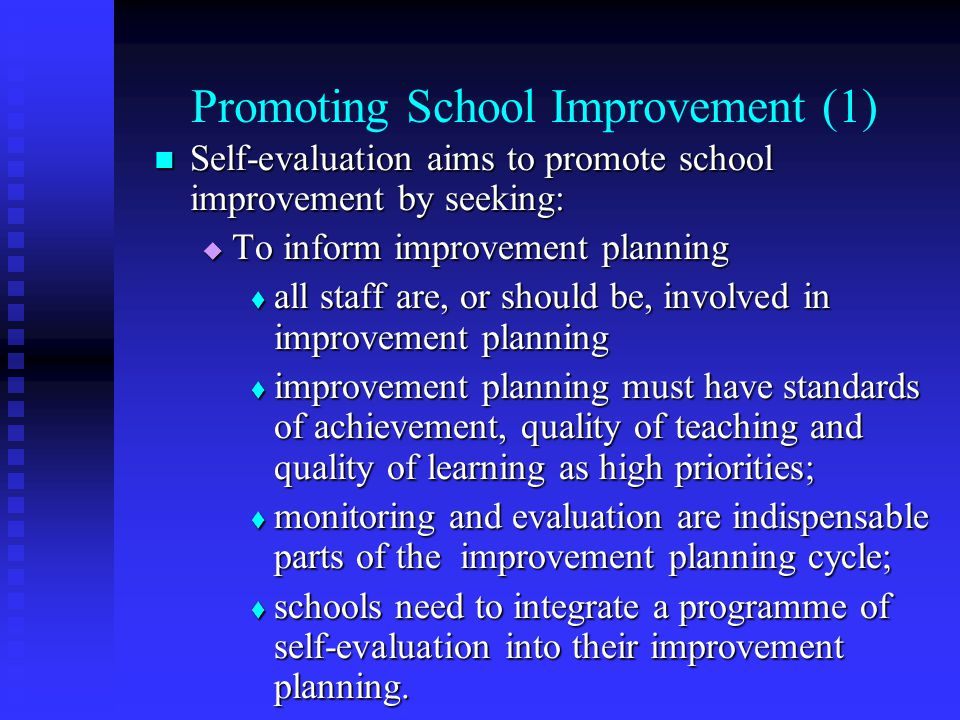 Promoting School Improvement (1)