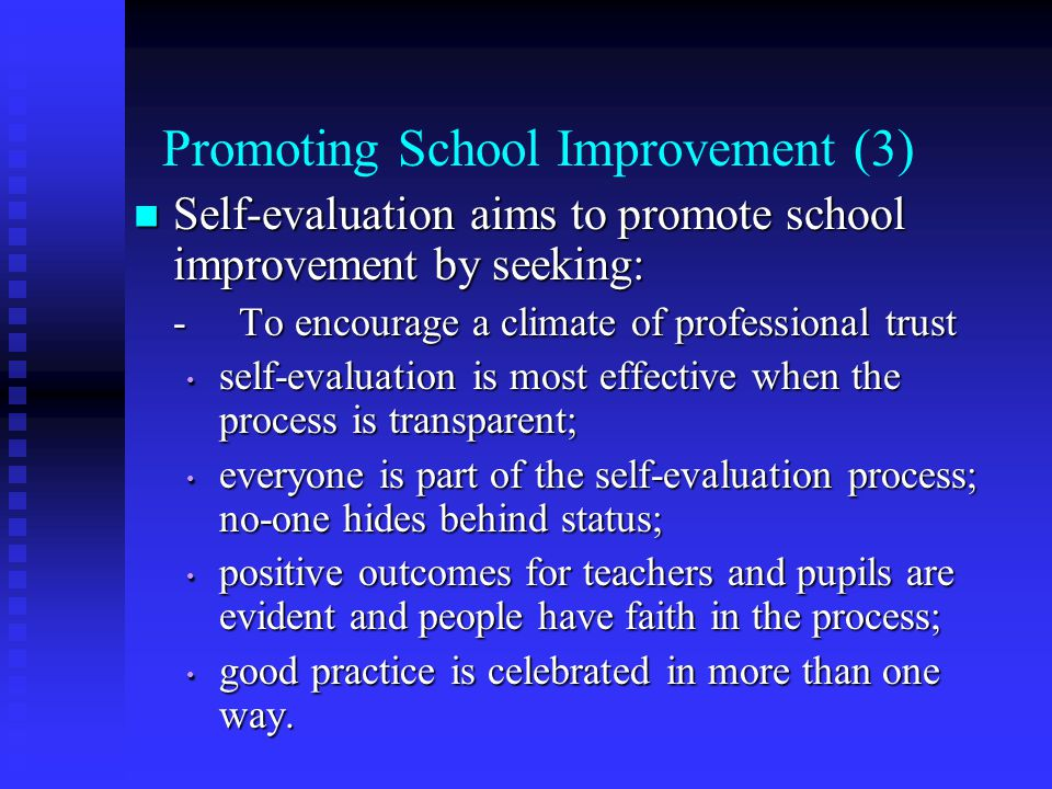 Promoting School Improvement (3)