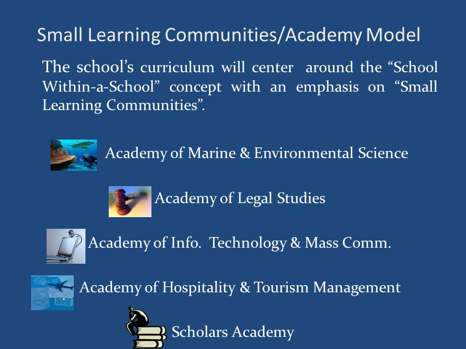 Small Learning Communities/Academy Model