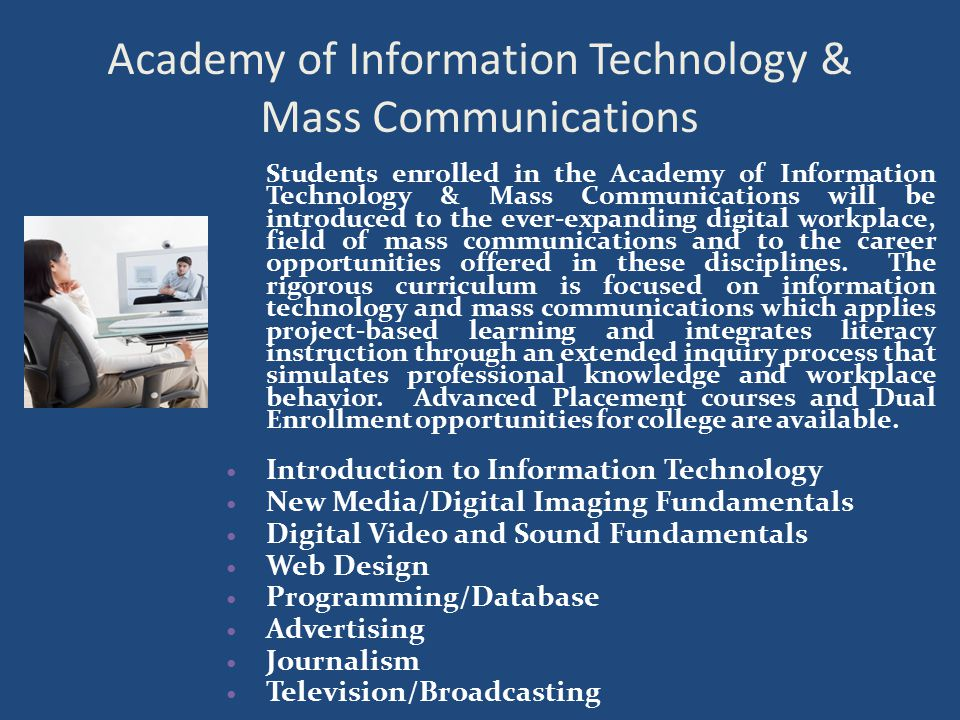 Academy of Information Technology & Mass Communications