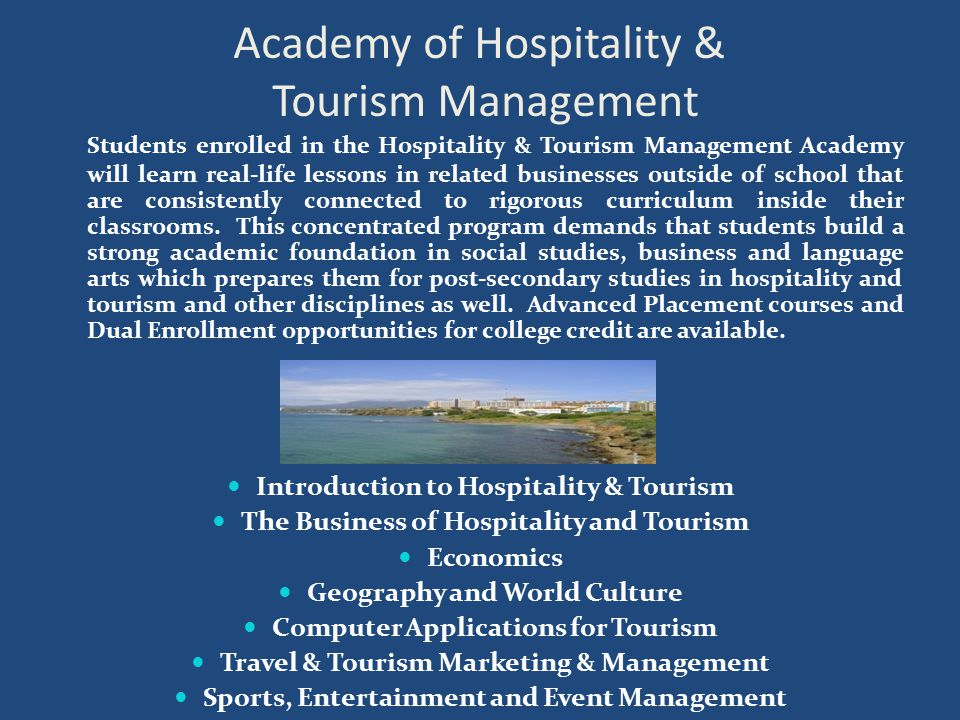 Academy of Hospitality & Tourism Management