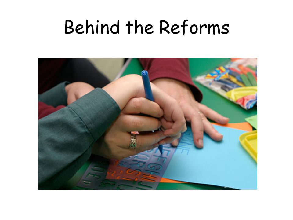 Behind the Reforms