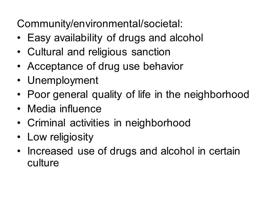 Community/environmental/societal: