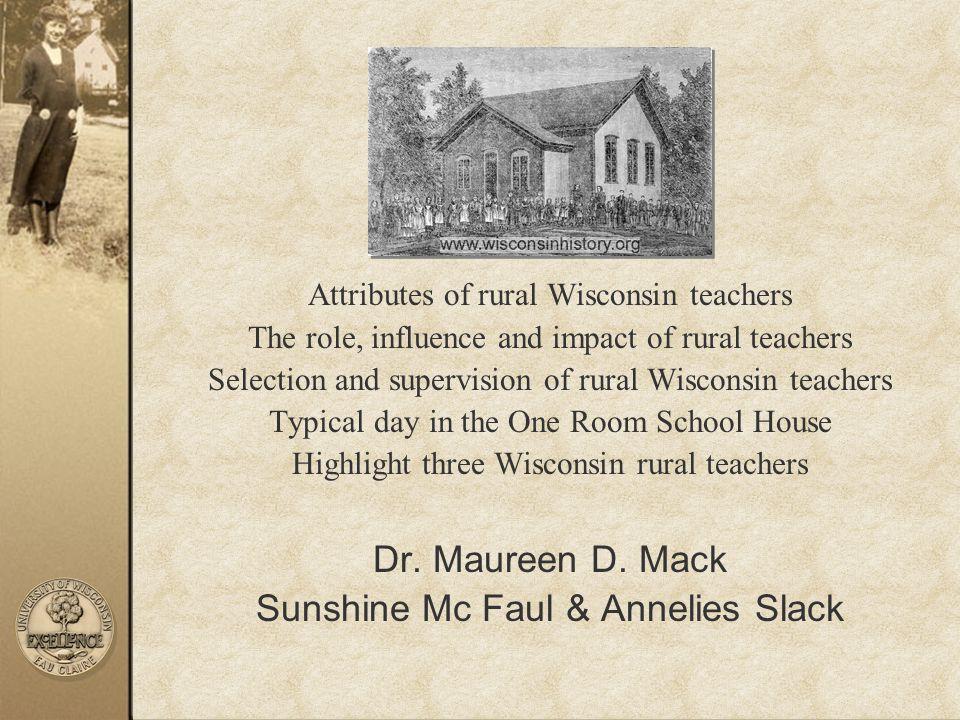 Sunshine Mc Faul & Annelies Slack