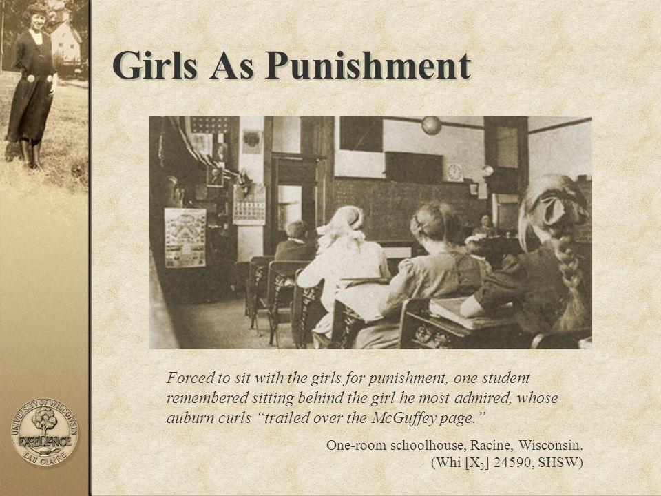 Girls As Punishment