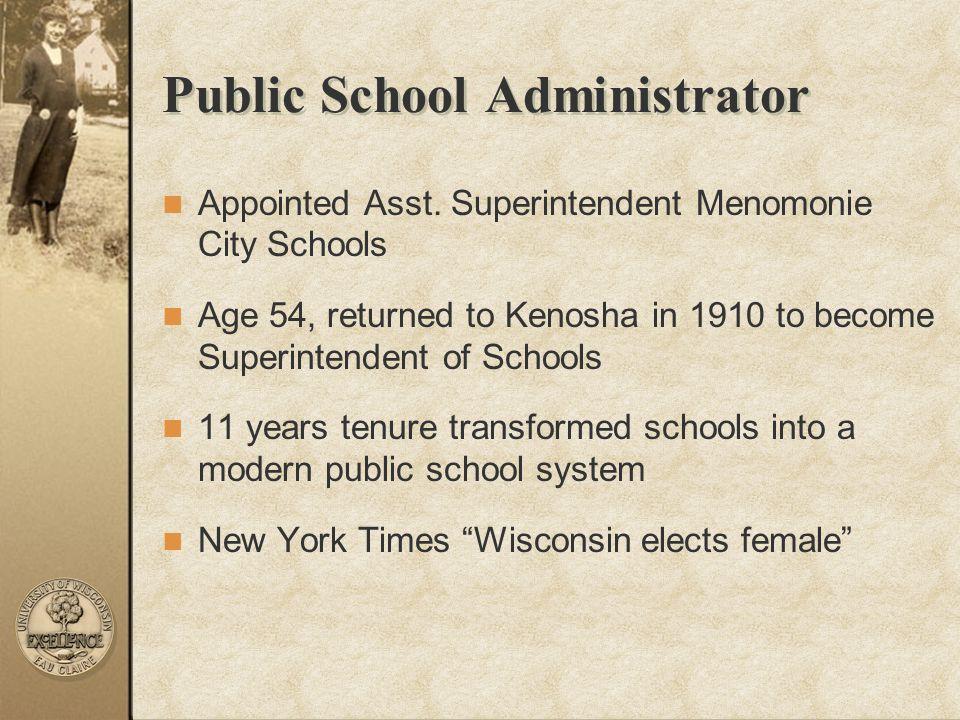 Public School Administrator